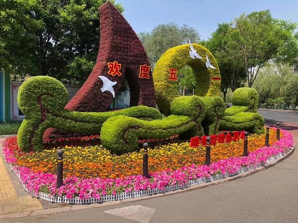 綠植雕塑公司_上哪找可靠的花園設計