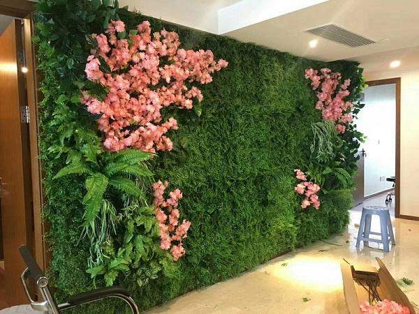 仿真植物墻價格-想要易種植的植物墻就來我有花