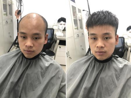 广州假发,男士假发,假发定制