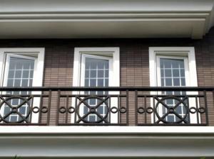 濟源陽臺護欄-軒澤實業出售高質量的陽臺護欄鋅鋼鋁合金欄桿
