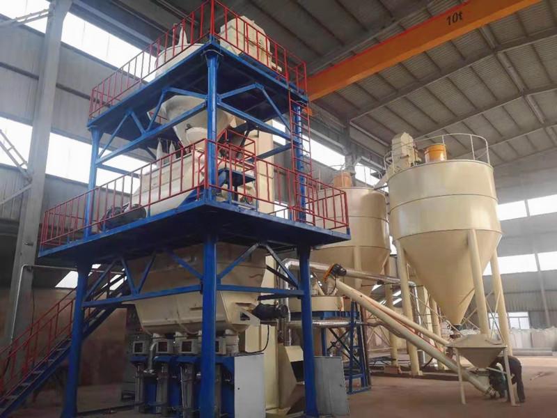 哈尔滨全自动砂浆生产线-哪里能买到报价合理的石膏砂浆设备