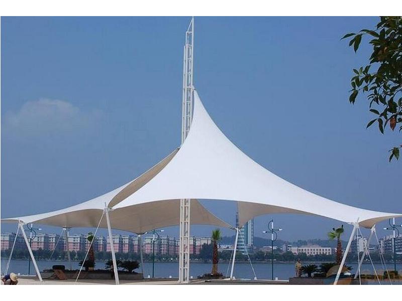 郑州雨棚膜结构厂家|雨棚膜结构造价