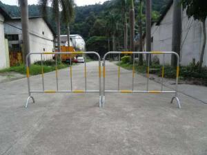 铁马护栏价格-锌钢移动铁马隔离护栏格