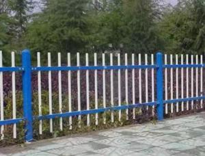 鋅鋼圍墻護欄兩橫桿加厚組裝式