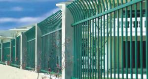 江苏围墙护栏两横杆-河南哪里可以买到高性价轩泽锌钢两横杆围墙护栏