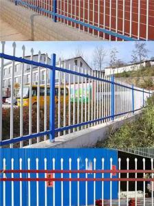 中国围墙护栏两横杆-河南新品轩泽锌钢两横杆围墙护栏批发