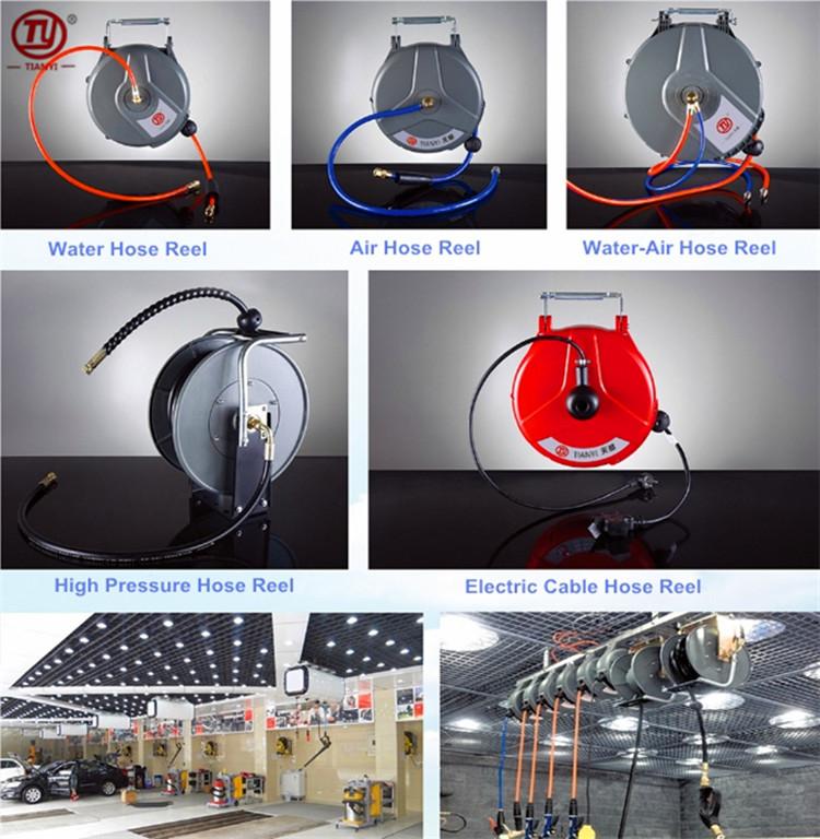 汽车美容工具汽修气动水鼓灯鼓自动伸缩悬挂式气鼓自动卷管器