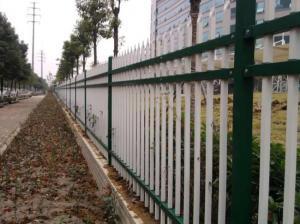 濟源圍墻護欄-有口皆碑的鋅鋼圍墻護欄三橫桿推薦