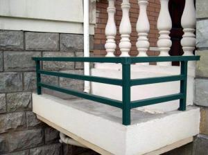 漯河空調護欄_供應洛陽銷量好的鋅鋼空調護欄熱鍍鋅圍欄