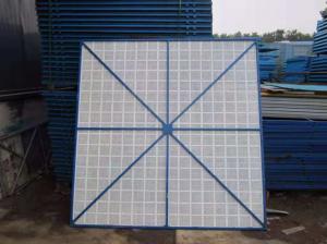 鄭州供應爬架網_河南哪里可以買到高質量的鋅鋼爬架網護欄