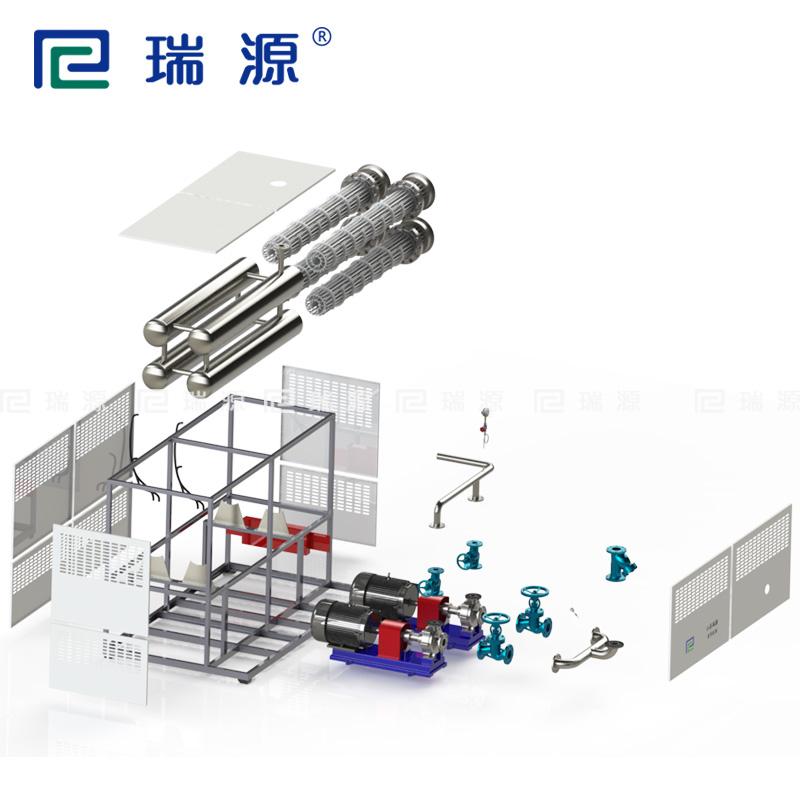 无纺布生产线烘筒加热电导热油炉导热油电加热器
