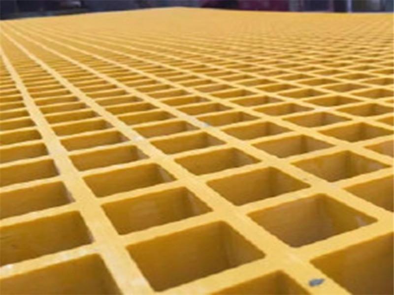 玻璃钢拉挤格栅 树脂树池盖板 玻璃钢地沟盖板 污水处理格栅