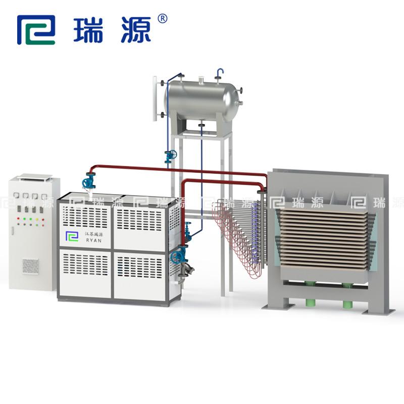 新型环保的热能转换循环电导热油加热器有证书
