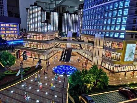 沈阳楼盘建筑模型的设计历史