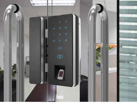 西安智能密码锁-在哪能买到高质量玻璃门断桥铝指纹锁