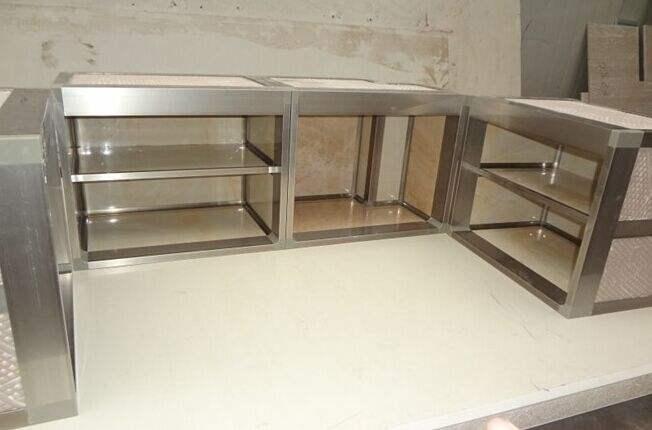 铝合金橱柜哪里便宜|优惠的铝合金橱柜和家悦金属制品供应