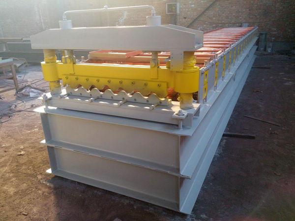 彩鋼覆膜機廠家-泊頭市鼎嘉機械專業供應單層壓瓦機