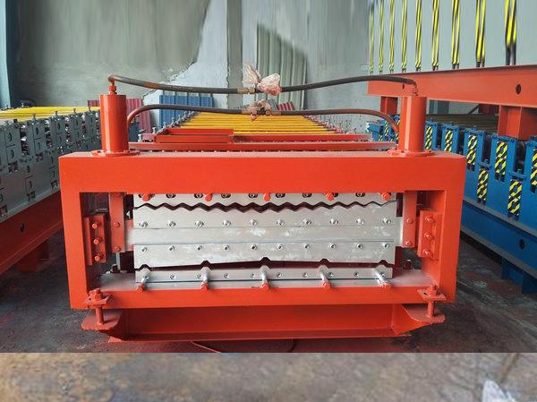 安徽彩鋼雙層壓瓦機-河北雙層壓瓦機供應