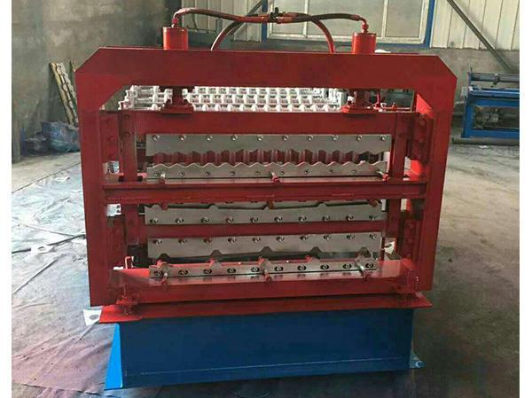 三層琉璃瓦機生產廠家-三層壓瓦機價格