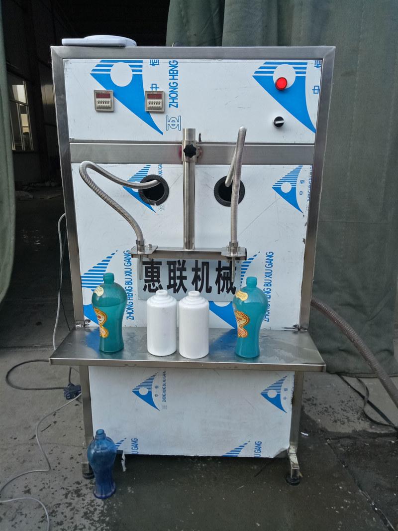 供应小型饮料灌装机瓶装桶装液体分装机半自动灌装设备