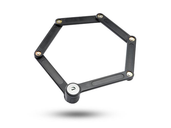 购买折叠锁当选金钥匙锁业|浙江电动车折叠锁生产厂家