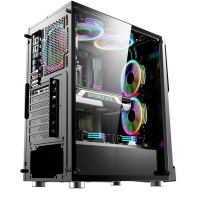 微星(MSI)雷万汀 中塔机箱/支持ATX主板/支持240