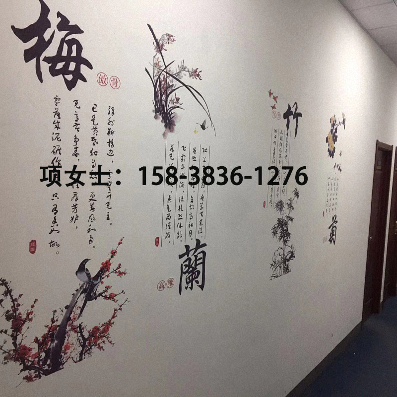 郑州厂家直销三喷头Y3墙体广告彩绘机校园文化墙画喷绘机