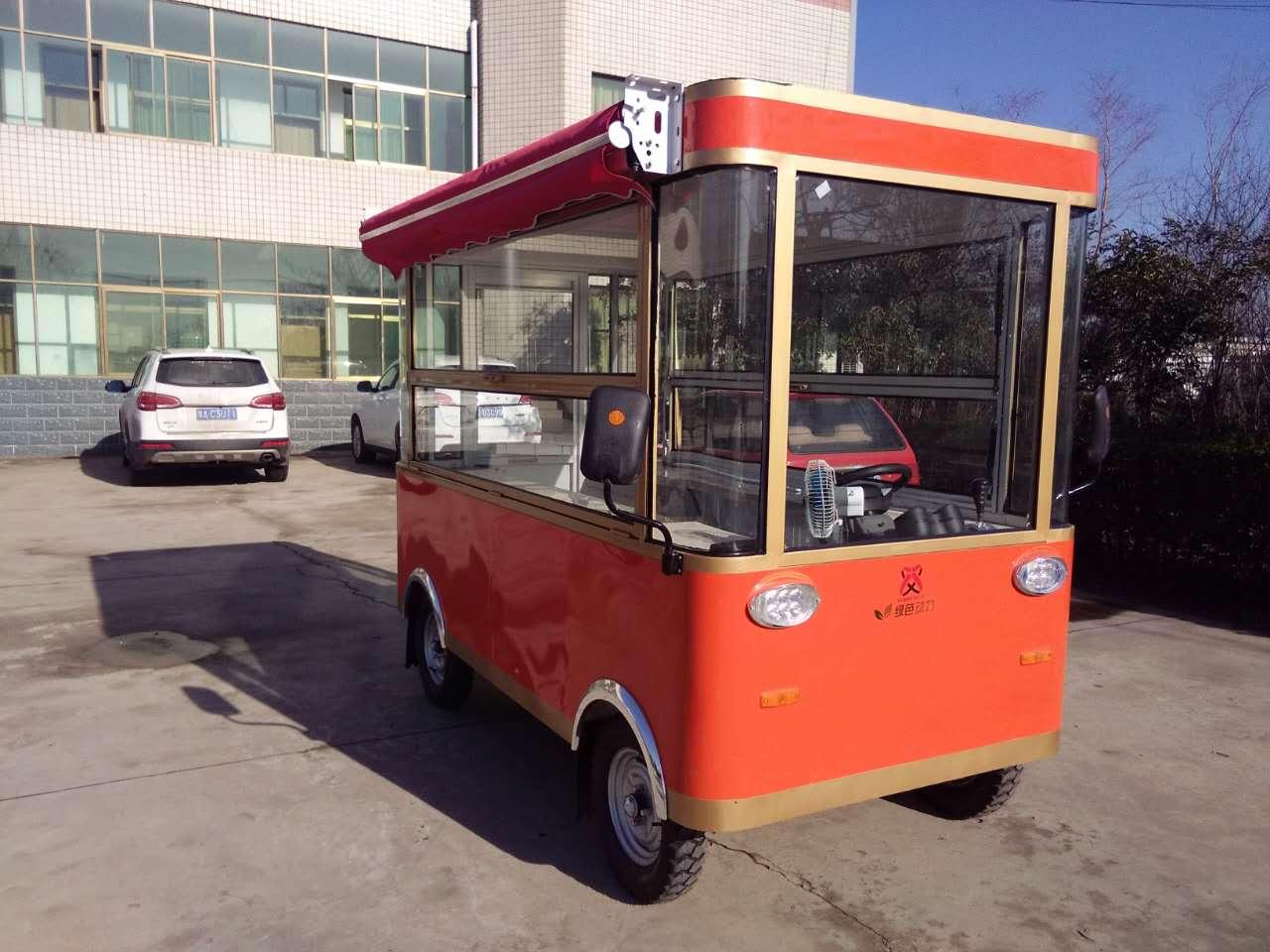 早餐移动小吃车价位多少   奶茶四轮流动车售价 寿司小吃车
