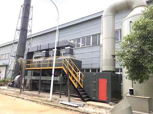 合肥噴淋塔廠家|衛輝市藍森環保設備噴淋塔要怎么買