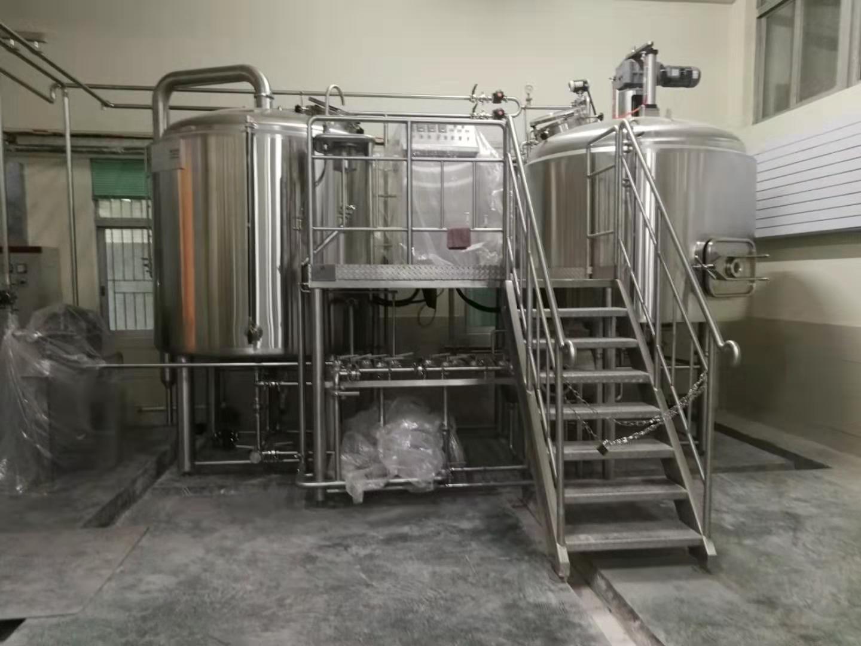 hui州精酿啤酒设备 hui州实hui的小型啤酒生产线pi售