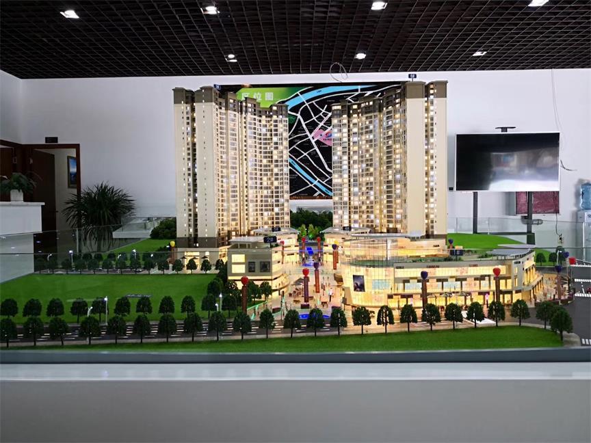 成都售楼展示模型-成都建筑模型专业制作公司