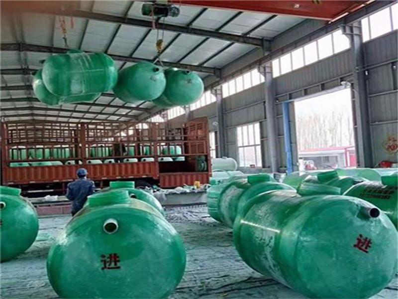 河北加工玻璃钢污水处理化粪池 玻璃钢缠绕化粪池质量好的厂家