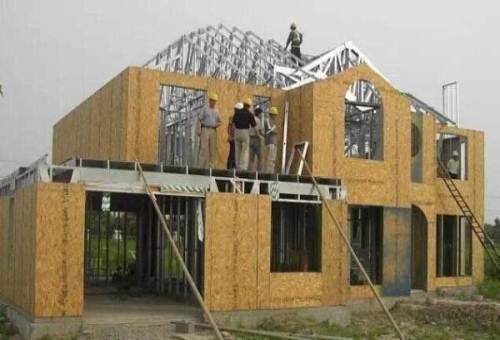 白银装配式轻钢别墅