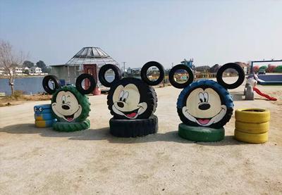 南京輪胎工藝品生產|供應宿遷實惠的輪胎工藝品
