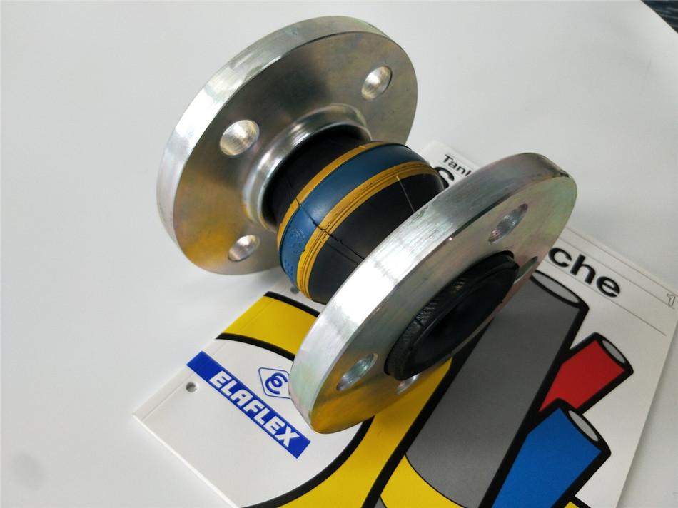 机舱船舱发动机冷却水橡胶软连接橡胶膨胀节 硬质管道位移补偿器