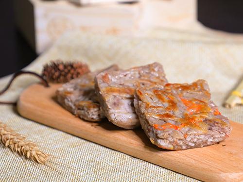廣州點心早餐加盟|價格合理的臘味芋絲糕番禺興港誠供應