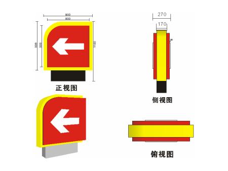 抚顺加油站灯箱标识施工|买灯箱标识就来葫芦岛金鑫缘安装工程