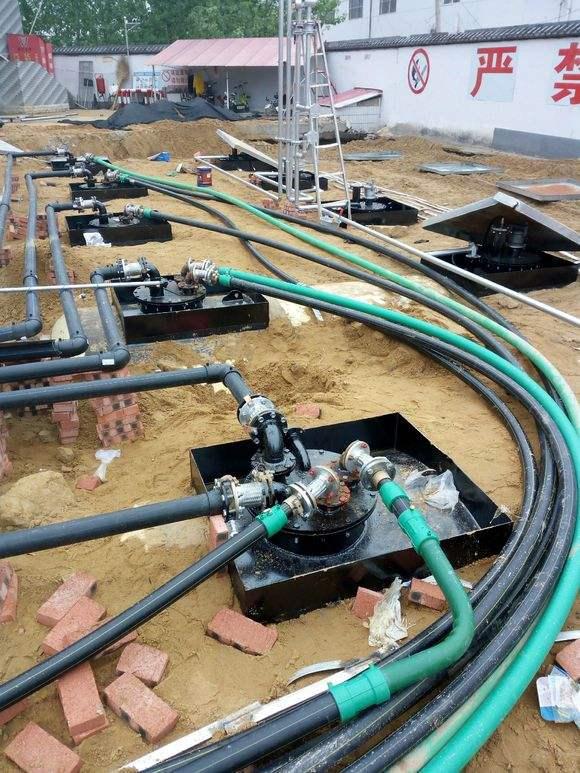 葫芦岛加油站管道安装施工_鄂尔多斯加油站管道安装