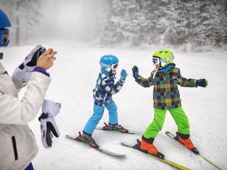 沈陽學滑雪就來雪培文化一個小時學會滑雪,雪場上不露怯!