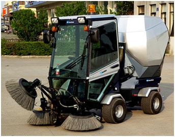 萬潔ICS 100S多功能戶外清掃車,萬潔清潔廠家供應