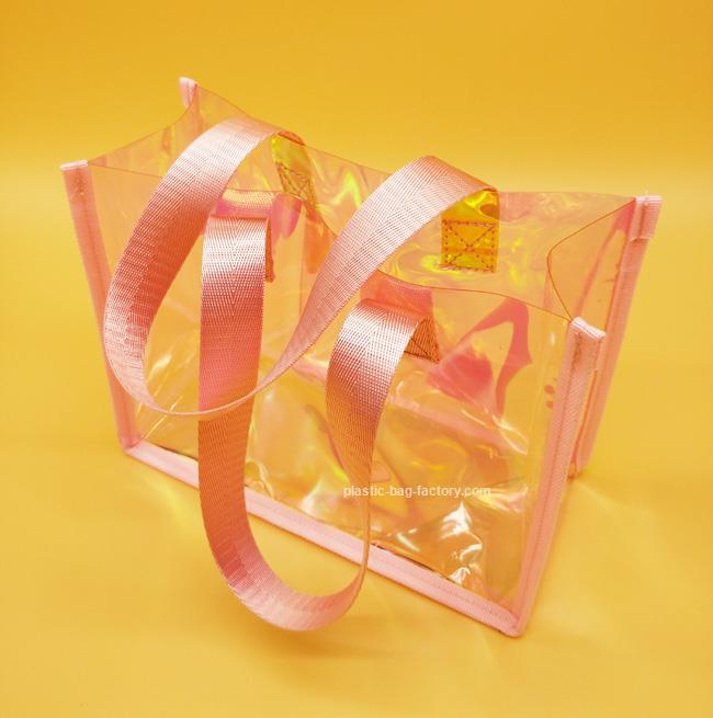 PVC透明嗤手提袋厂家|大量供应←高性价PVC手提袋
