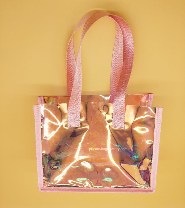 深圳幻彩PVC手提袋廠家-專業的PVC手提袋公司_鴻泰PVC膠袋廠