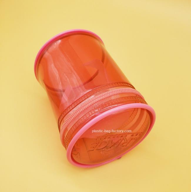 鸿泰PVC胶袋厂专业供应PVC胶骨袋 圆筒PVC胶骨袋生产厂家