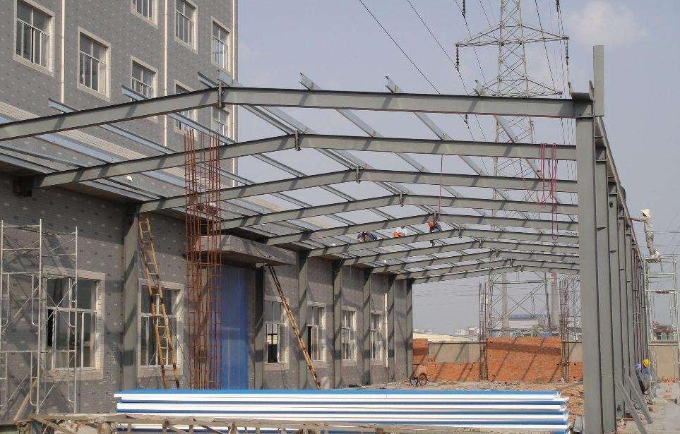 辽宁钢结构制作安装:钢结构阳光房的搭建具体制作流程