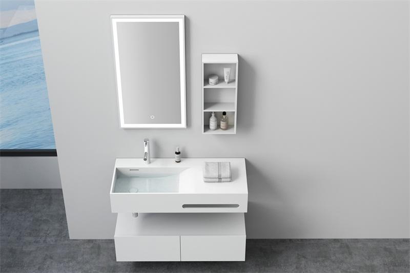 东莞人造石洗手盆价格-想买高品质人造石挂墙盆就到德博卫浴