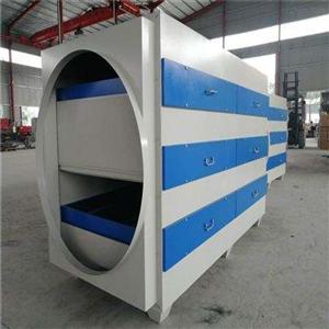 安徽UV光氧净化设备_慧旺机械提供实用的活性炭吸附箱