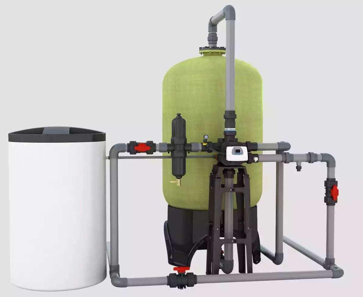直真环保供应价位合理的软化水设备-西安软化水处理设备销售