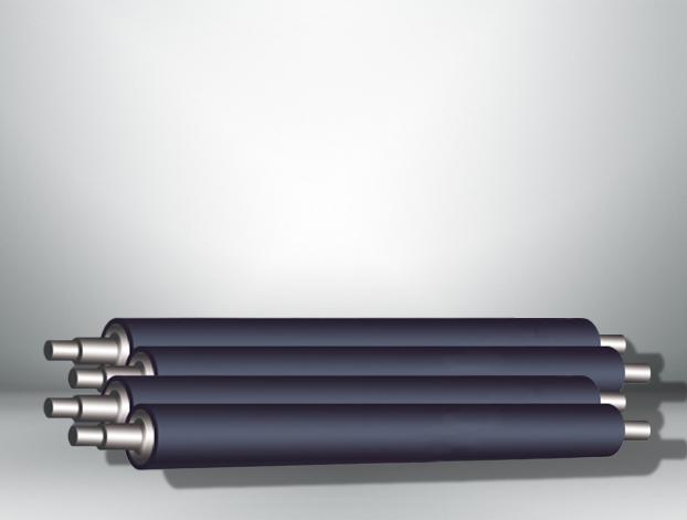 深圳膠輥-武漢旭陽橡膠優良的UV印刷墨輥