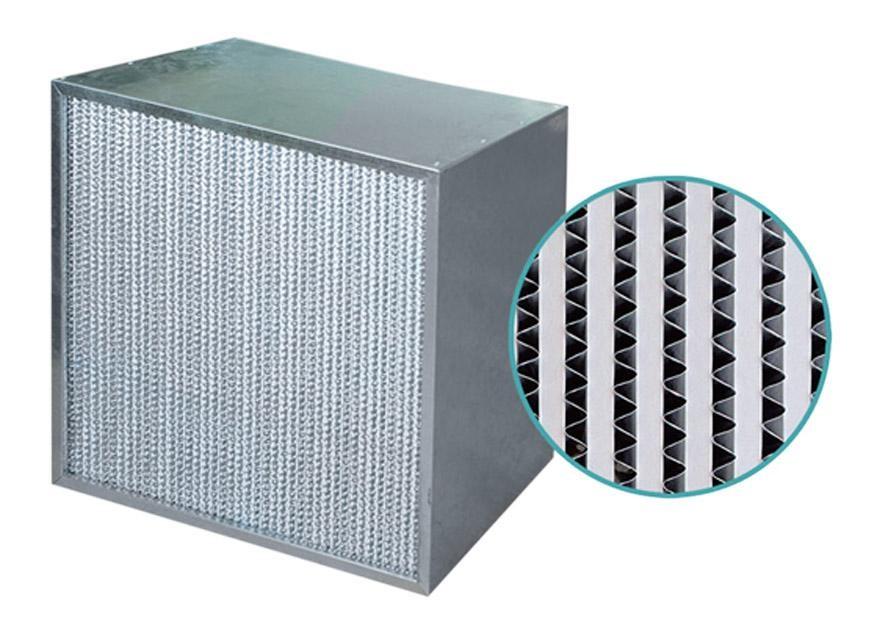 有隔板高效过滤器厂家供应|广州优良的有隔板高效空气过滤器_厂家直销