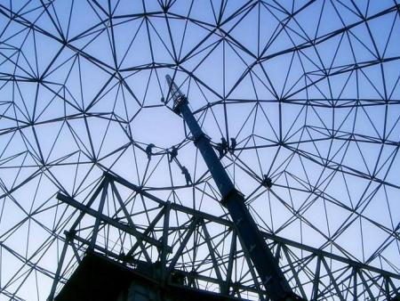 螺栓球网架从设计到制作安装的诀窍!